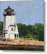 Hendricks Head Lighthouse Metal Print
