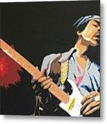 Hendrix 4 Metal Print