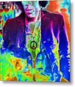 Hendrix Metal Print by David Lee Thompson