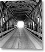 Henniker Covered Bridge Metal Print