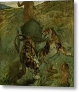Henri From Toulouse-lautrec 1864 - 1901 Allegory, The Life Spring Metal Print
