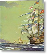 Henri Grace A Dieu, Or The Great Harry Metal Print