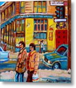 Henry Birks On St Catherine Street Metal Print