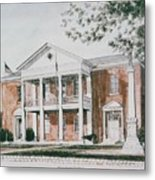 Henry County Courthouse Metal Print