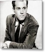 Henry Fonda, Hollywood Legend Metal Print
