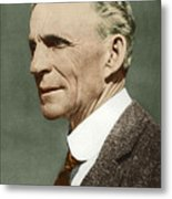 Henry Ford, Us Car Manufacturer Metal Print by Sheila Terry