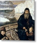 Henry Hudson And Son Metal Print