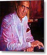 Henry Mancini Metal Print by David Lloyd Glover