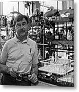 Henry Taube, Canadian-american Chemist Metal Print