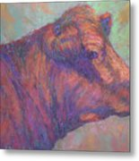 Henry's Red Angus Metal Print