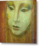 Her Party Face Metal Print
