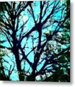 Her Perfect Tree Metal Print