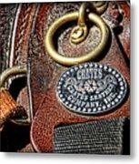 Her Saddle Metal Print