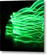 Her Spirit Lives In The Woods Metal Print