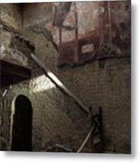 Herculaneum House Wall Art - Murals Mosaics And Arches Metal Print