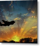 Hercules In The Morning Metal Print