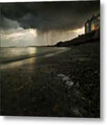 Here Comes The Rain Metal Print