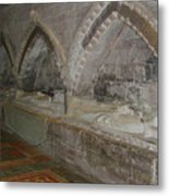 Hereford Cathedral Crypt Metal Print