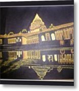 heritage of india - The president house Metal Print