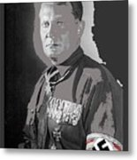 Herman Goering Portrait With His Medals Including The Blue Max Circa 1935-2016 Metal Print