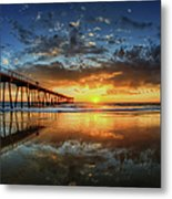 Hermosa Beach Metal Print