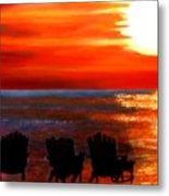 Hernando Beach Metal Print