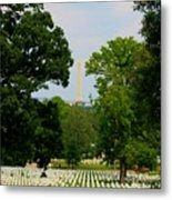 Heroes And A Monument Metal Print