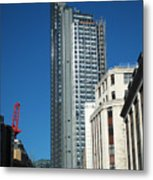 Heron Tower Metal Print