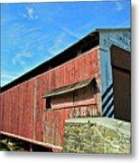 Herrs Mill Bridge Metal Print