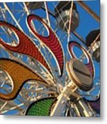 Hershey Ferris Wheel Of Color Metal Print