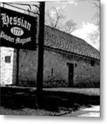 Hessian Powder Magazine Metal Print
