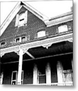 Hester Had A Hunch Her House Was Haunted Metal Print