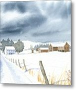 Hester Homeplace Metal Print