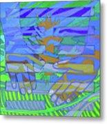 Hexagram 18-ku Metal Print