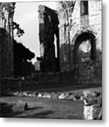 Hexam Abbey In England IIi Metal Print