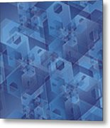 Hexentricity 1 Metal Print