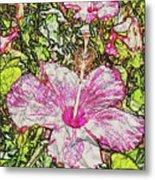 Hibiscus 101516 1a Metal Print
