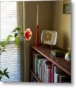 Hibiscus And Friends Metal Print