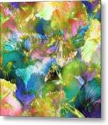 Hibiscus Trumpets Metal Print