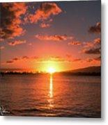 Hickam Sunset Metal Print