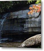 Hickory Nut Falls At Chimney Rock Nc Metal Print