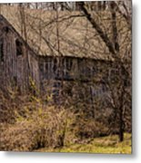 Hidden Barn Metal Print