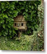 Hidden Birdhouse Metal Print