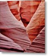 Hidden Canyon Angles. Metal Print