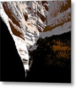 Hidden Canyon Metal Print