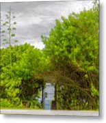 Hidden Gate II Metal Print