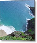Hidden Kilauea Beach Metal Print