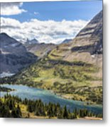 Hidden Lake Overlook Metal Print
