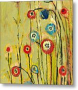 Hidden Poppies Metal Print by Jennifer Lommers