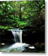 Hidden Rainforest - Painterly Metal Print